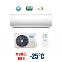 Aer conditionat MIDEA Blanc Series R32 12000 btu - MA-12NXD0/MA-12N8D0, Freon Ecologic R32, Modul WiFi Integrat,