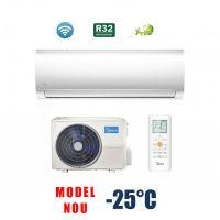 Aer conditionat MIDEA Blanc Series R32 9000 btu - MA-09NXD0/MA-09N8D0, Freon Ecologic R32, Modul WiFi Integrat