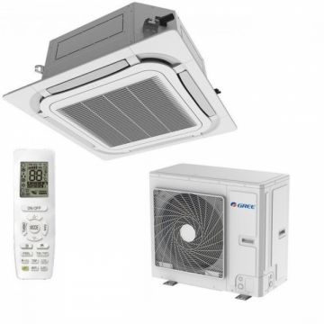 Aer conditionat tip caseta Gree GUD50T/A-T-GUD50W/NhA-T Inverter 18000 BTU