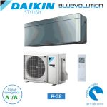 Aer conditionat Daikin Stylish Bluevolution FTXA20AS-RXA20A Inverter 7000 BTU Silver, R32
