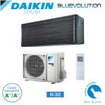 Aer conditionat Daikin Stylish Bluevolution FTXA35AS-RXA35A Inverter 12000 BTU black, r32 - Model 2018 , clasa energetica A++++